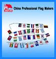 caliente la venta de publicidad de plástico empavesado banderas