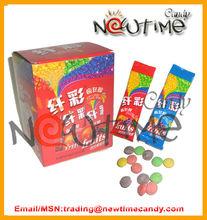 18G super sour fruit flavor rainbow candy beans-NTC13478