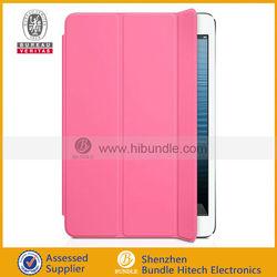 original smart cover for ipad mini,for apple ipad mini smart cover 2013 hot