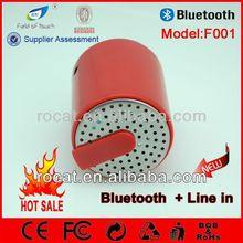 Micro speaker with creative portable plastic design