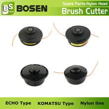 2 Storke/4 Stroke Gas Brush Trimmer Nylon Head KOMATSU/ECHO Type of Brush Trimmer Spare Parts