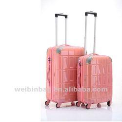 fashionable good-elastic suitcase luggage WB-PC061 for women
