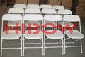 plástico caso resina cadeira dobrável para o aluguer de