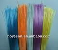 ( pet reto) de fibra de plástico para fabricação de vassouras