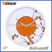Artistic Clock Flower Wall Clock Round Wall Clock