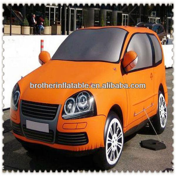 2013 personnalisécarte publicité gonflable modèle de voiture