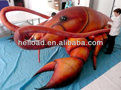 2013 tne most popular Inflatable Lobster for event