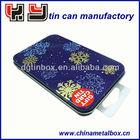 beautiful metal tin gift card box