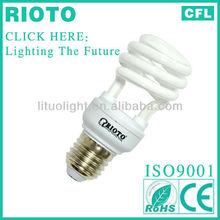 Export Africa & European top sell T2 12W Half spiral lighting