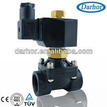 2WSL Series plastic normally open water solenoid valve