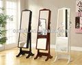 miroir de plancher armoire à bijoux de style français de meubles anciens miroir cheval