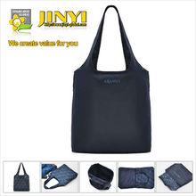 nylon customized logo printing cheap foldable shopping bag
