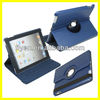Tablet Accessories for 9.7 inch Leather 360 Rotating for iPad 3 Case Magnetic Smart Cover 2013 New Product
