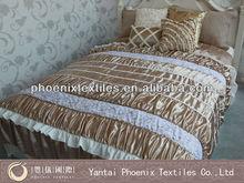 3D hotel 100 polyester bedspread set