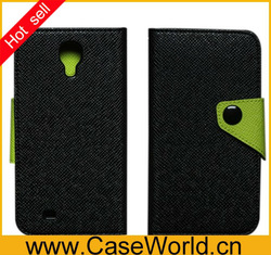 New Book Leather Case For SAMSUNG Galaxy S4 I9500 With Card Holder