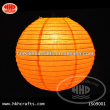 new product wholesale handmade europe wedding decoration indoor hanging round paper lantern