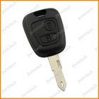 car remote key blanks for citroen NE73 blade no logo 2 button
