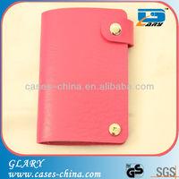 Professional Fashion Design PU credit card holder/PU card wallet/ PU leather money clip