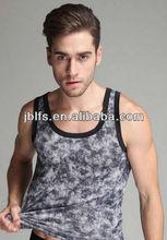 New Style Men Tank Top Tight Gym Men's Top dress Under Waist