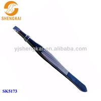 stainless steel 1pc simple design comfortable price beauty tweezers