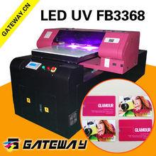 cmyk white ink uv printer id card printer,transparent plastic card printer flatbed,digital pvc card embossment flatbed printer
