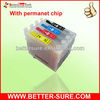 T1661-T1664 Refill ink cartridge for epson me-101 with permanent chip
