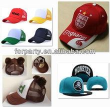 PCH-1493 Promotional baseball hat Embroidery baseball cap Flat brim baseball hat
