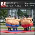 inflables interactivos acolchado de espuma de trajes de sumo