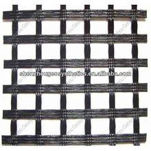 fiberglass quality certificate, Warp knitted bitumen coated fiberglass geogrid