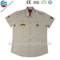 polycotton camisa de trabalho personalizado com o logotipo da empresa