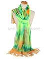 sciarpa fatta a mano modello tie dye sciarpa di pashmina