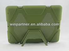 waterproof for ipad case with silicone material