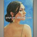 venda quente belas mulheres nuas pintura