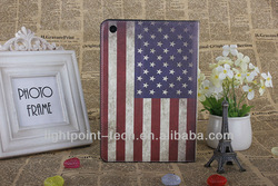 United Kingdom Flat design leather case for ipad case, for ipad case supplier, for ipad case manufactory