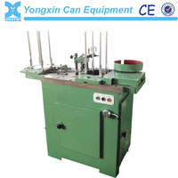 pail tin can cover glue filling machine