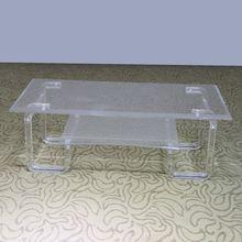 luxury clear acrylic trunk coffee table