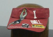 custom sun visor cap sandwich