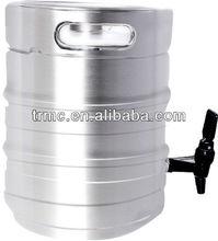 stainless steel beer bottle-10L /barrel /growler