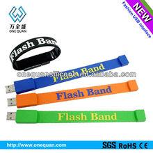 Promotional wholesale 2G/4G/8G usb bracelet driver