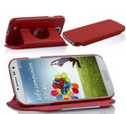 360 rotating design PU leather phone case stand cover for Samsung galaxy S4 i9500