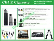 2012 best selling 650mah/900mah/1100mah/1300mah battery e cigarette clearomizer changeable ce5 atomizer