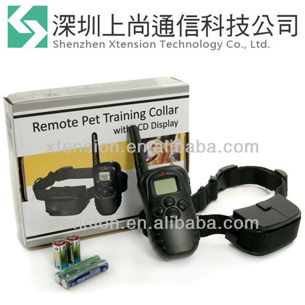 Waterproof & Rechargeable 1 Dog LCD Shock & Vibrate Remote Dog Training Collar
