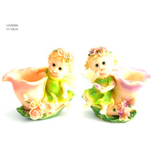 LH29305 Resin Baby Crasft Angels with Wings