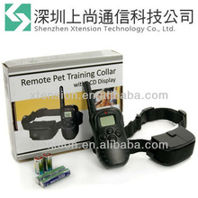 New arrive!!! 100L LCD Shock+ vibra remote no bark pet dog training collar 300M
