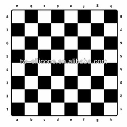 2013 New products online silicone ChessBoards mat
