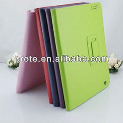 Folio Leather Smart Cover Case For iPad 3
