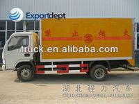 2- 5 ton china small truck, explosion-proof vehicles, 4x4 diesel mini truck