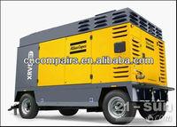 AtlasCopco XAHS950CD silent type portable diesel engine screw air compressor