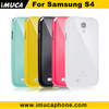 Hot selling ! Galaxy SIV i9500 case -IMUCA cool color tpu series