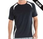 Dir fit polyester mens t shirt for sport